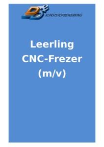 CNC Frezer leerling